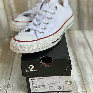 New Optical White Converse All Star Ox Sneakers
